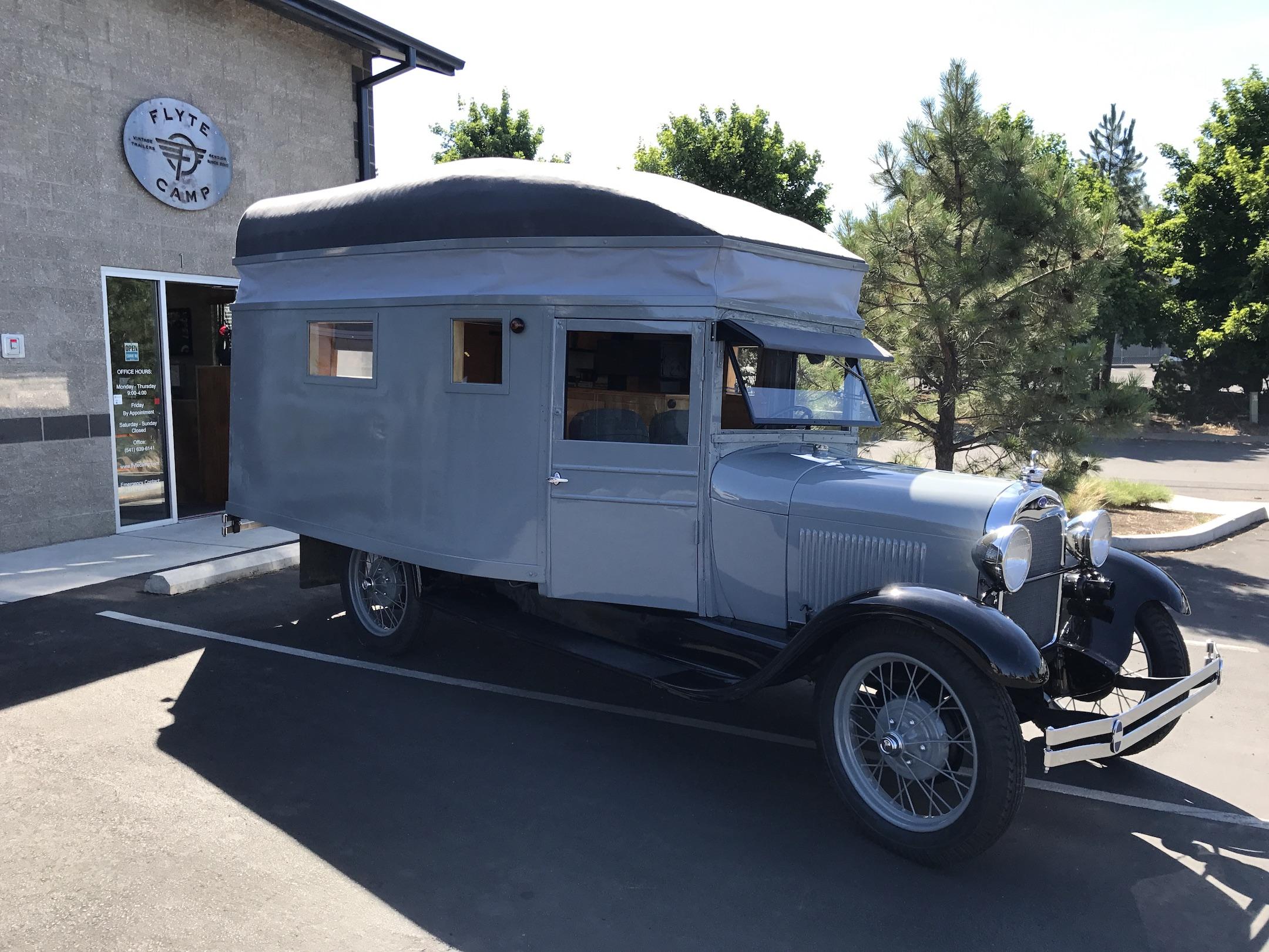 1928 Ford House Car